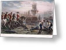 Boston: Evacuation, 1776 Greeting Card