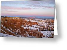 Bryce Canyon National Park Utah Greeting Card