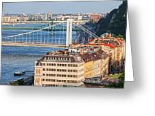 Budapest Cityscape Greeting Card