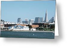 Buildings At The Waterfront, San Greeting Card