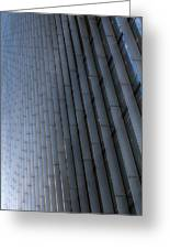Canary Wharf Abstract Greeting Card
