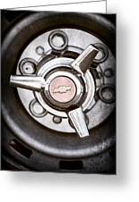 Chevrolet Wheel Emblem Greeting Card