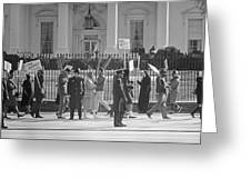 Civil Rights Protest, 1965 Greeting Card