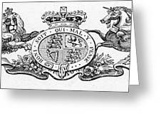 Coat Of Arms Great Britain Greeting Card