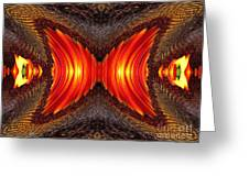 Color Fashion Abstract Greeting Card