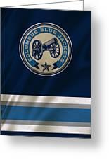 Columbus Blue Jackets Uniform Greeting Card