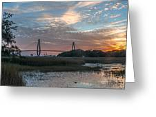 Charleston Cooper River Bridge Greeting Card