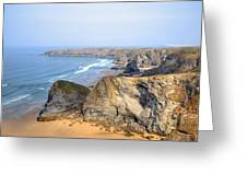 Cornwall - Bedruthan Steps Greeting Card