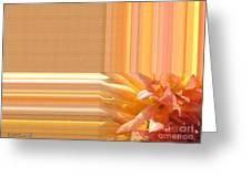 Dahlia Named Intrepid Greeting Card by J McCombie