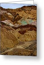 Death Valley Painted Rock Greeting Card