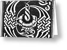 Decorative Initial G Greeting Card
