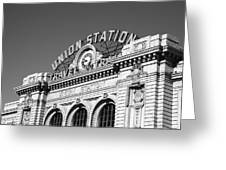 Denver - Union Station Greeting Card