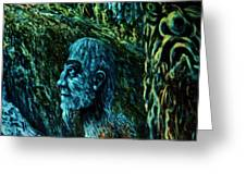 Detail From Shaman Greeting Card