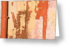 Drainpipe Greeting Card