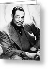Duke Ellington (1899-1974) Greeting Card