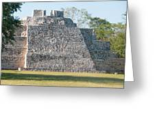 Edzna In Campeche Greeting Card