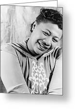 Ella Fitzgerald (1917-1996) Greeting Card