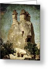 Fairy Chimney In Goreme Greeting Card