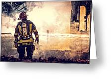 Firefighters Greeting Card