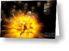 Fireworks Art Greeting Card