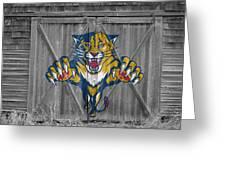Florida Panthers Greeting Card