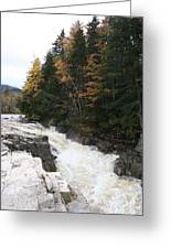 Franconia Notch White Mountians Greeting Card