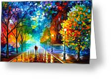 Freshness Of Cold Greeting Card