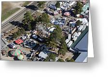 Fryeburg Fair, Maine Me Greeting Card by Dave Cleaveland