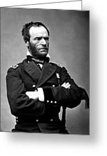 General William Tecumseh Sherman Greeting Card by War Is Hell Store