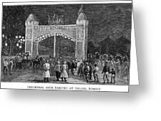 Golden Jubilee, 1887 Greeting Card