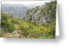 Grand Canyon Du Verdon - France Greeting Card