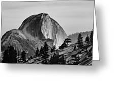 Half Dome Greeting Card by Cat Connor