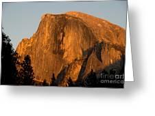 Half Dome, Yosemite Np Greeting Card