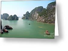 Halong Bay In Vietnam Greeting Card