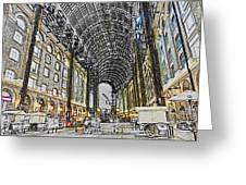 Hays Galleria London Sketch Greeting Card