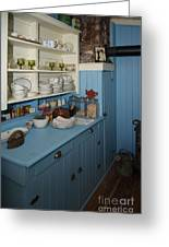 Heritage Cottage Museum On Bowen Island Greeting Card