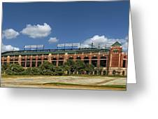 Home Of The Texas Rangers Greeting Card