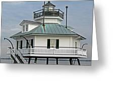 Hooper Straight Lighthouse Greeting Card