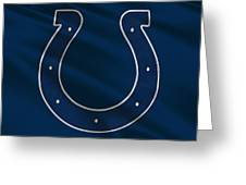 Indianapolis Colts Uniform Greeting Card