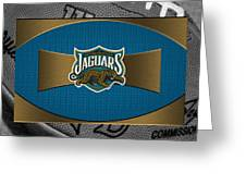 Jacksonville Jaguars Greeting Card