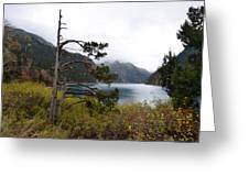 Jiu Zhai Valley Greeting Card