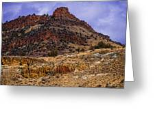 John Day Fossil Beds Nations Monuments Greeting Card by Shiela Kowing