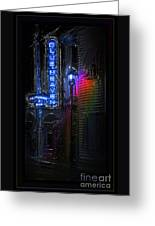 Key West Florida - Blue Heaven Rendezvous Greeting Card
