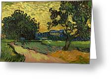 Landscape At Twilight Greeting Card