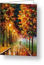 Light Of Autumn Greeting Card