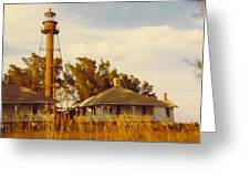 Lighthouse Landscape Greeting Card