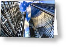 Lloyd's And Willis Group London Greeting Card