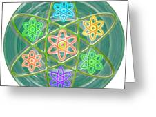 Mandala Is An Object It Is Your Spirit To Meditate And Be In Touch With Cosmic Forces That Matters Greeting Card