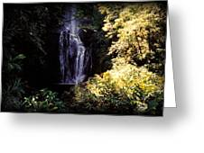 Maui Waterfall Greeting Card