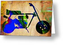 Mini Bike Greeting Card
